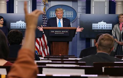 Bob Woodward Publicizes Trump's Genuine View on Covid-19