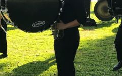 Barker in drumline